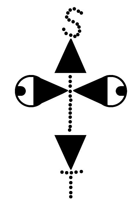 Logootje links